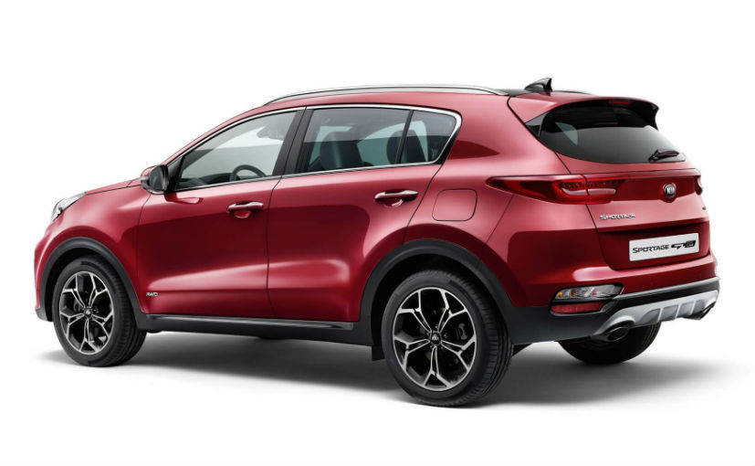 The brand new Kia Sportage Facelift gets Mild Hybrid Diesel Engine