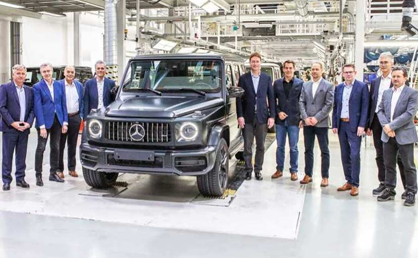 The production of the 2019 Mercedes-Benz G-Class has started in Austria