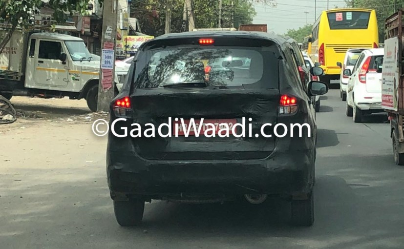 Upcoming Maruti Ertiga to have major cabin changes