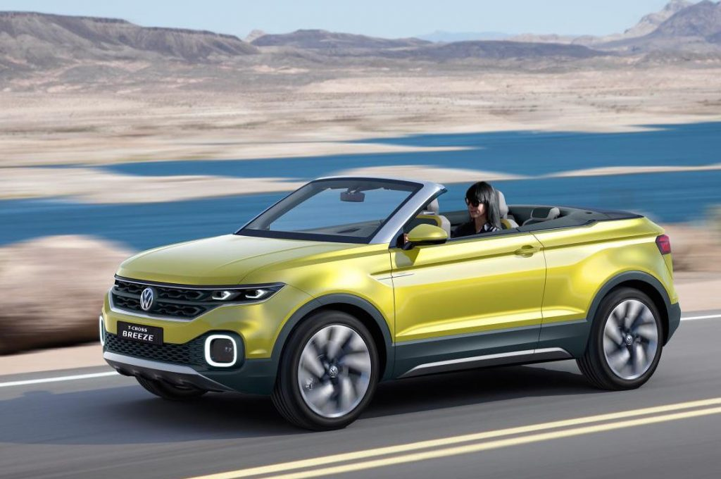 Volkswagen T-Roc Cabriolet confirmed for 2020
