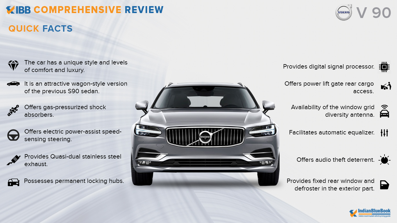 Volvo V 90 Quick Facts