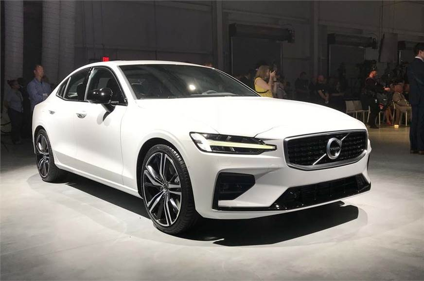 Volvo unveiled the all new S60 sedan