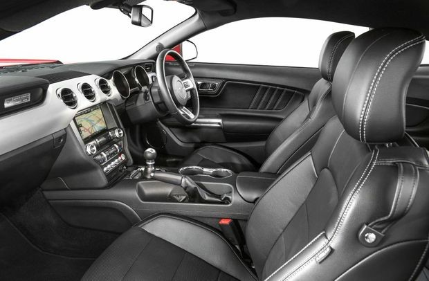 2017 Ford Mustang GT Black Interior