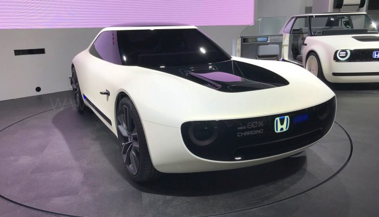 IBB Blog Sports EV Concept From Honda Displayed At Auto Expo - Auto show prices