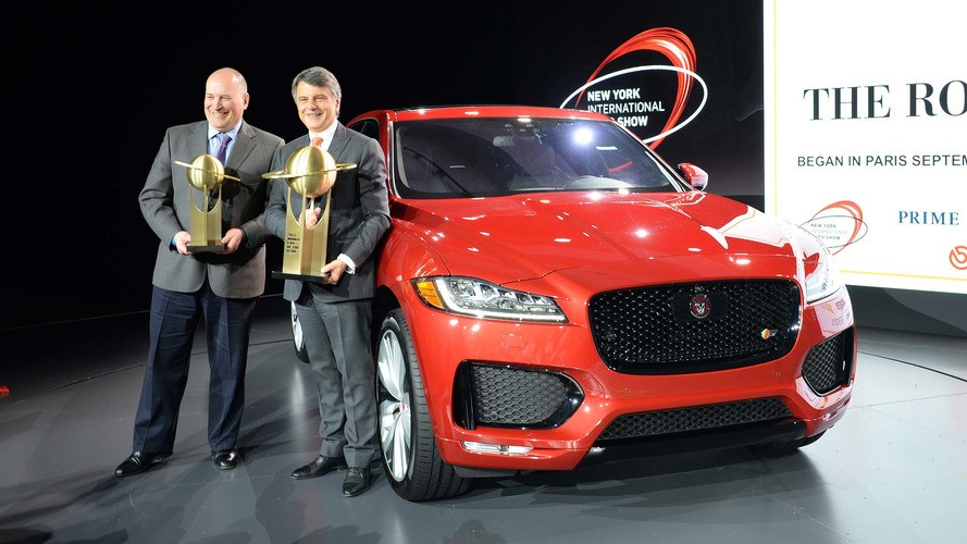 ... Car Design Of The Year As Well. Jaguar F Pace