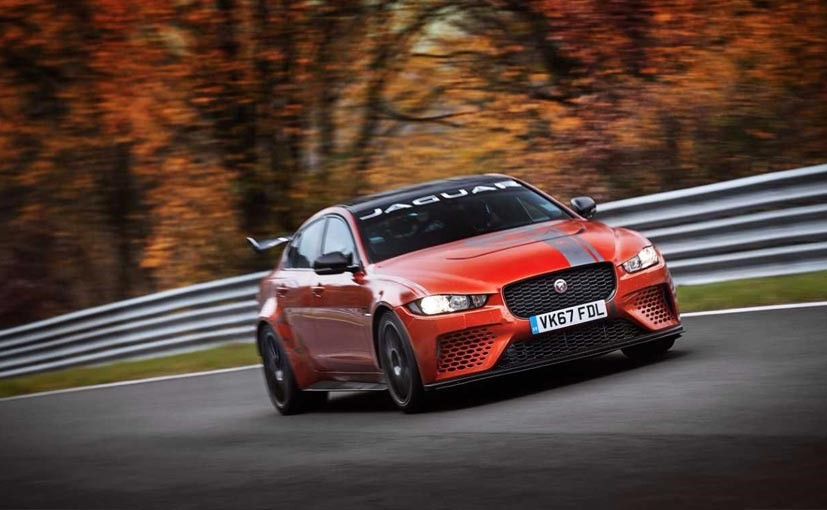Jaguar updating the XE SV Project 8 with more technology