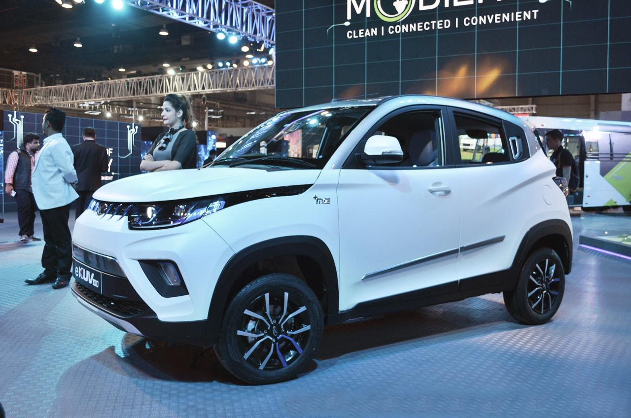 Mahindra New Car Amazing Electric Mahindra Kuv To Debut