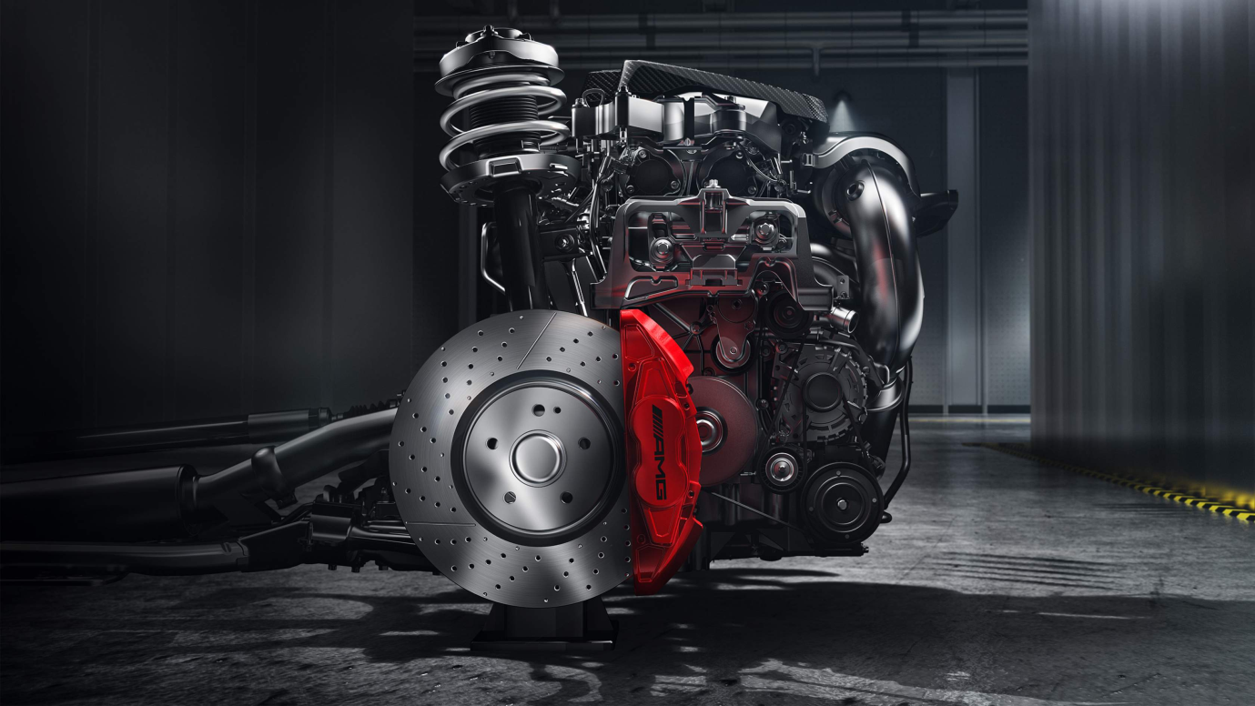 Mercedes Benz AMG CLA 45 Engine and Suspension