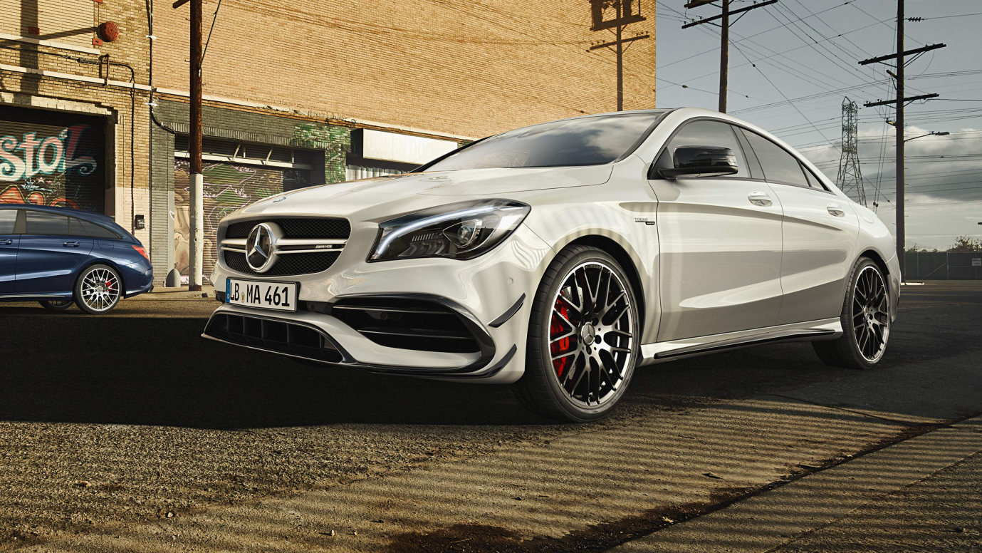 Mercedes Benz AMG CLA 45 Front View
