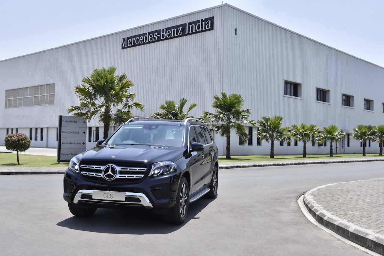 Mercedes Benz GLS Grand Edition