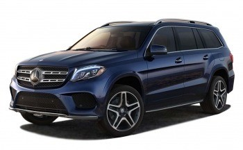Mercedes Benz GLS400 Blue