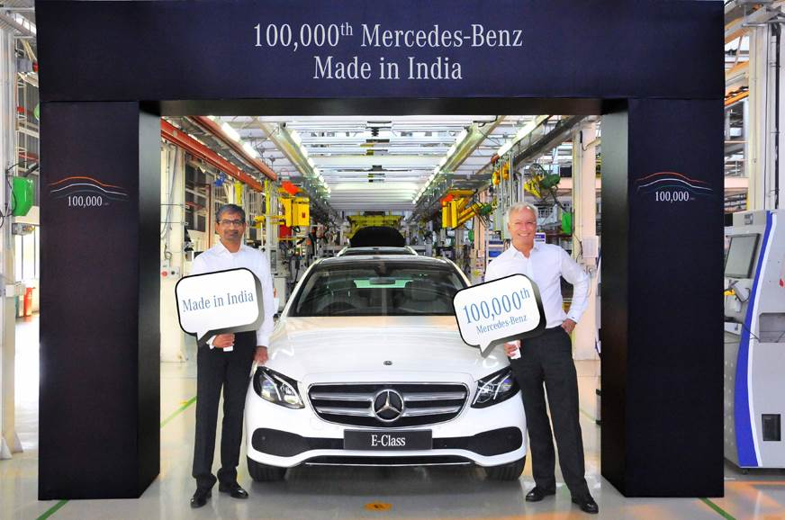 Mercedes Benz reaches the 100,000 milestone