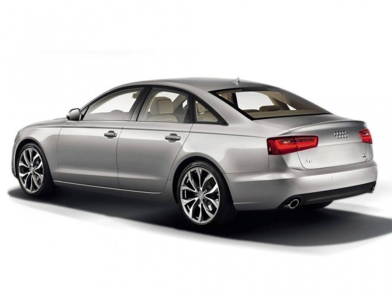 New Audi A6 3.5 TFSI Rear View