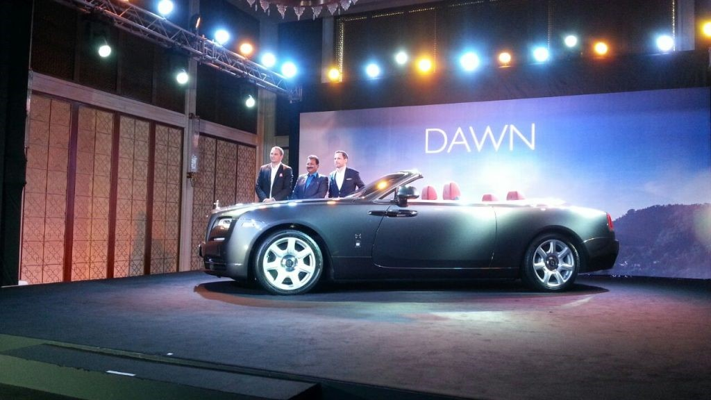Rolls Royce Dawn - First look