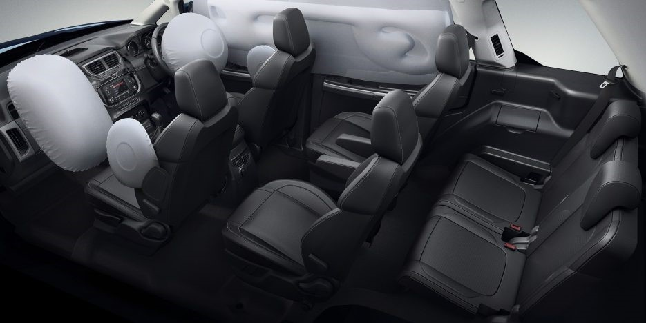 Tata Hexa Seats With Airbags