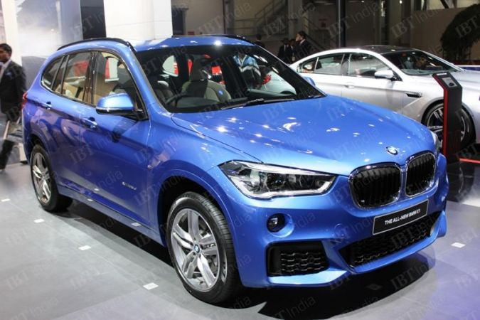 BMW X1 at Auto Expo 2016