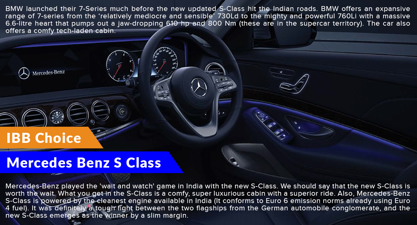 Mercedes Benz S Class IBB Choice