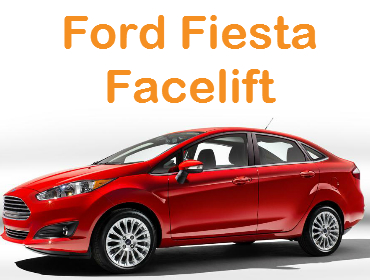 Ford Fiesta Sedan Facelift