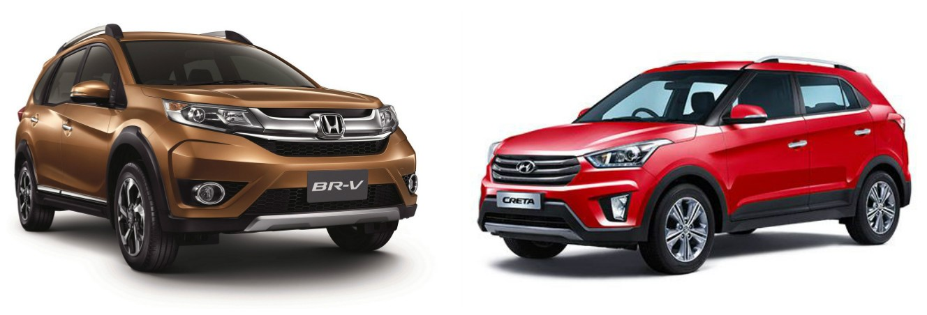 Honda BR- V vs Hyundai Creta