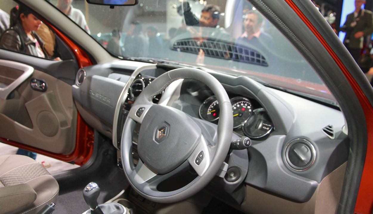 Interior Renault Duster Facelift