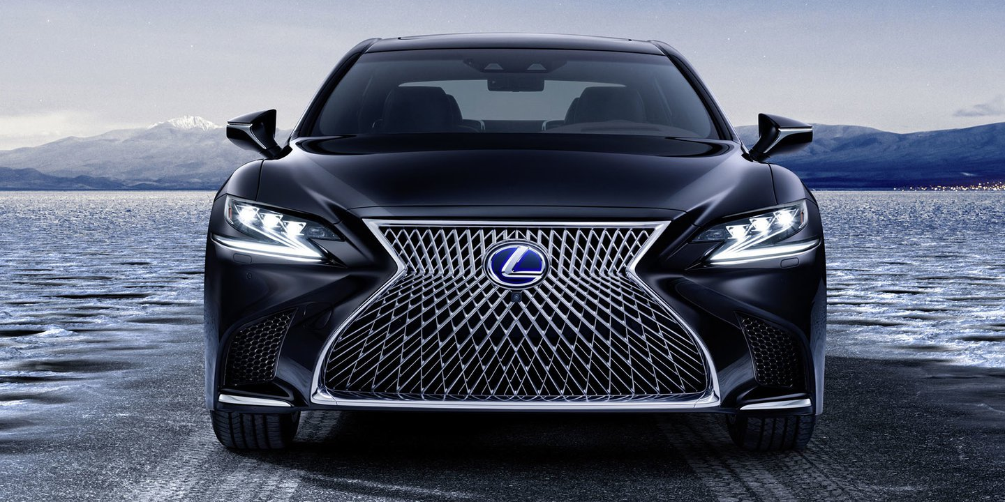 The all new Lexus LS 500 H