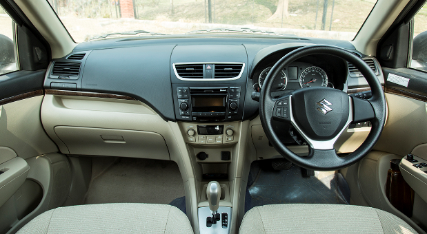 Maruti Suzuki Swift Dzire Interior