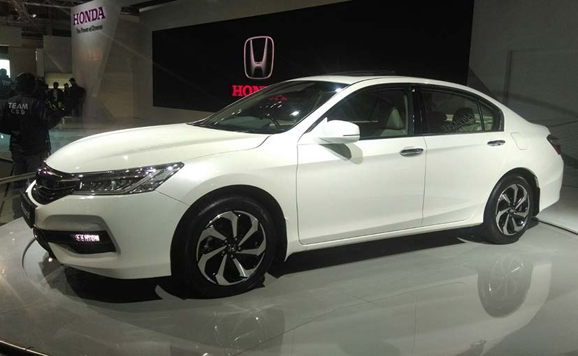 New Honda Accord Hybrid At Auto Expo 2016