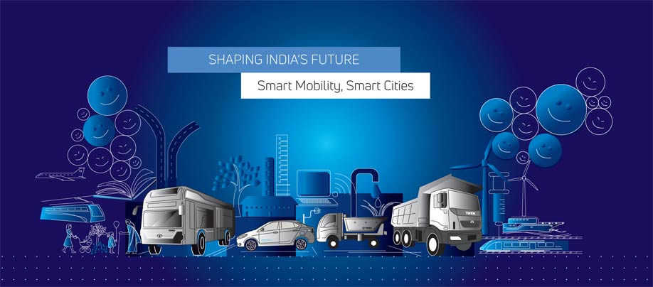 Tata Motors to showcase Smart Mobility solutions for Smart Cities at 2018 Auto Expo