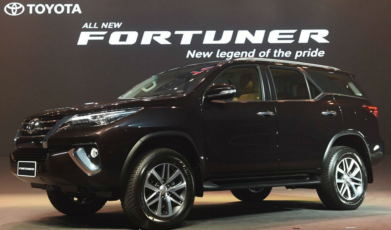 Toyota Fortuner at Auto Expo 2016