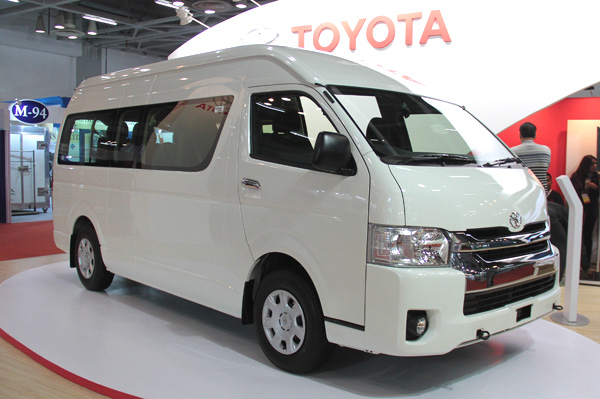 Toyota Hiace At Auto Expo 2016
