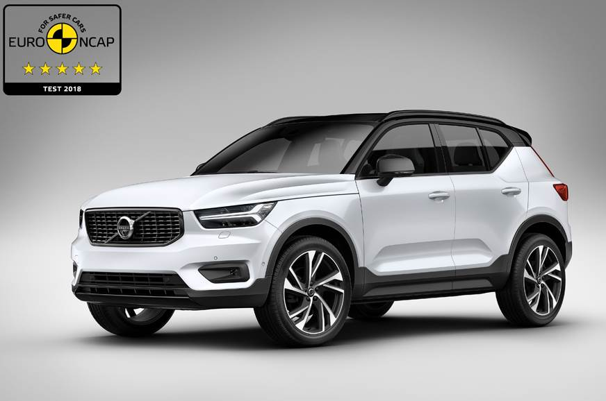 Five Star rating for Volvo XC 40 in Euro NCAP