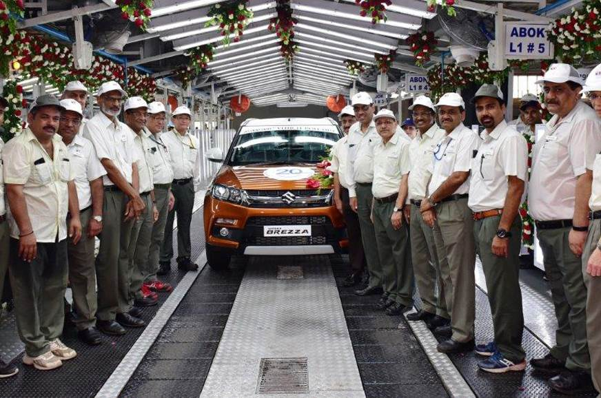 Milestone of 20 million unit production is successful for Maruti Suzuki